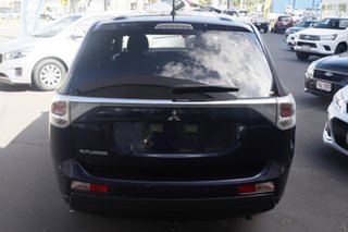 2013 Mitsubishi Outlander ZJ MY13 LS 4WD Blue 6 Speed Constant Variable Wagon.
