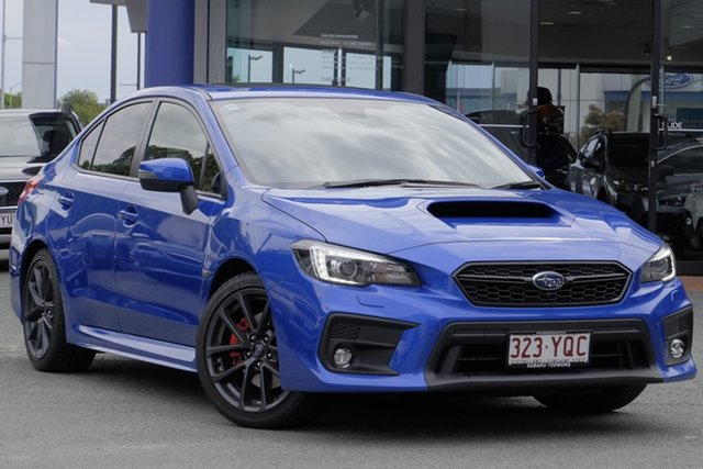 Demo Subaru WRX V1 MY19 Premium Lineartronic AWD, 2018 Subaru WRX V1 MY19 Premium Lineartronic AWD WR Blue Mica 8 Speed Constant Variable Sedan