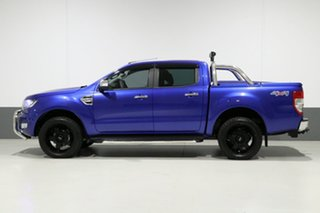 2016 Ford Ranger PX MkII XLT 3.2 (4x4) Blue 6 Speed Automatic Dual Cab Utility