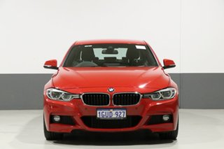 2018 BMW 330i F30 LCI MY18 M Sport Melbourne Red 8 Speed Automatic Sedan.