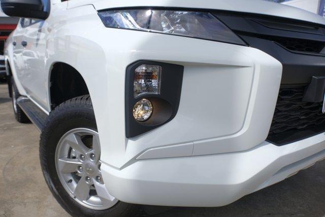 New Mitsubishi Triton MR MY19 GLX+ Double Cab, 2018 Mitsubishi Triton MR MY19 GLX+ Double Cab White 6 Speed Manual Utility