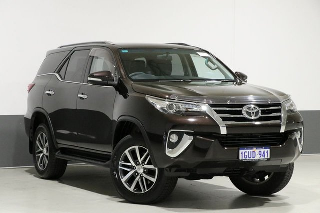 Used Toyota Fortuner GUN156R Crusade, 2016 Toyota Fortuner GUN156R Crusade Brown 6 Speed Automatic Wagon