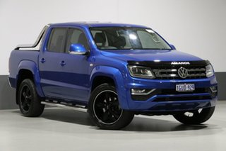 2017 Volkswagen Amarok 2H MY17.5 V6 TDI 550 Ultimate Blue 8 Speed Automatic Dual Cab Utility.