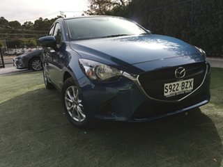 2019 Mazda 2 DJ2HAA Maxx SKYACTIV-Drive Eternal Blue 6 Speed Sports Automatic Hatchback.