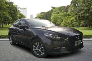 2018 Mazda 3 BN5278 Maxx SKYACTIV-Drive Sport Machine Grey 6 Speed Sports Automatic Sedan.