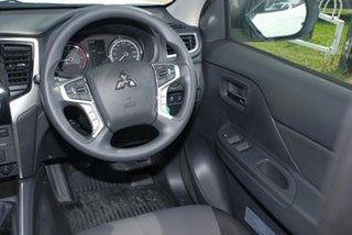2018 Mitsubishi Triton MR MY19 GLX+ White 6 Speed Manual