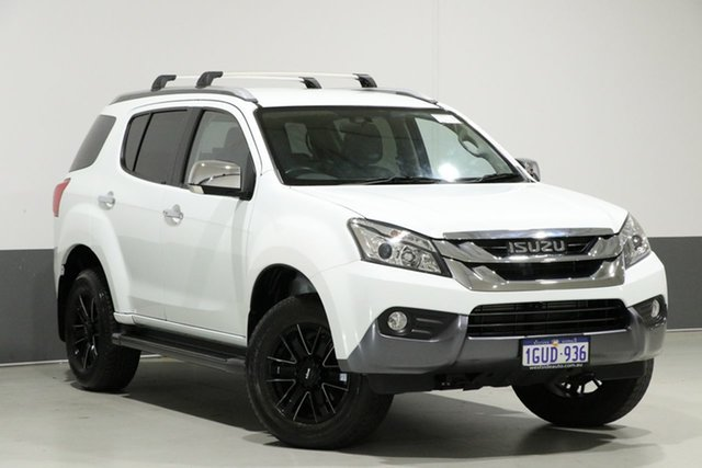 Used Isuzu MU-X UC MY15 LS-T (4x4), 2015 Isuzu MU-X UC MY15 LS-T (4x4) White 5 Speed Automatic Wagon