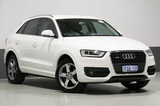 2014 Audi Q3 8U MY14 2.0 TDI Quattro (103kW) White 7 Speed Auto Dual Clutch Wagon.