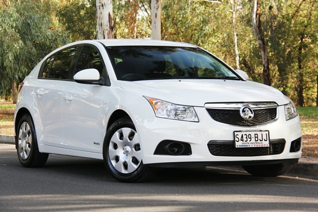 Used Holden Cruze JH Series II MY12 CD, 2012 Holden Cruze JH Series II MY12 CD White 6 Speed Sports Automatic Hatchback