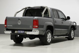 2013 Volkswagen Amarok 2H MY13 TDI400 Highline (4x4) Grey 6 Speed Manual Dual Cab Utility