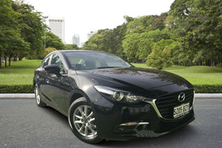 2018 Mazda 3 BN5278 Maxx SKYACTIV-Drive Sport Jet Black 6 Speed Sports Automatic Sedan.