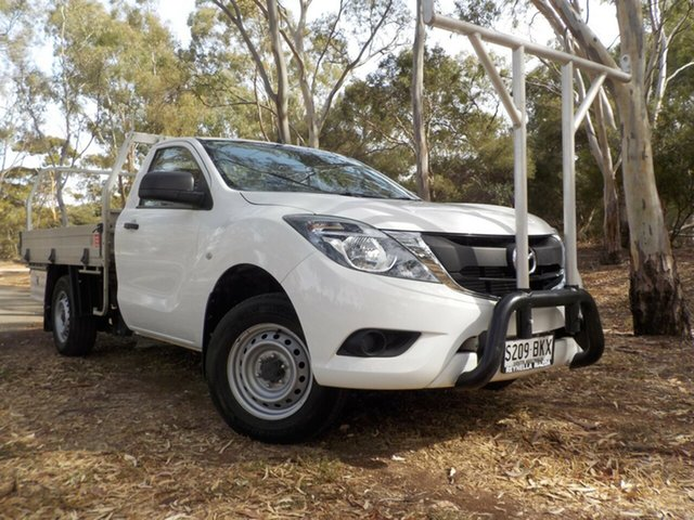Used Mazda BT-50 UR0YE1 XT 4x2, 2016 Mazda BT-50 UR0YE1 XT 4x2 6 Speed Manual Cab Chassis