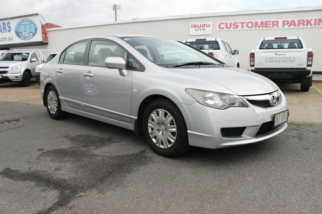 Used Honda Civic 8th Gen MY09 VTi, 2009 Honda Civic 8th Gen MY09 VTi Silver 5 Speed Manual Sedan