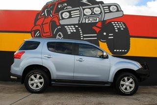 2016 Isuzu MU-X MY15 LS-T Rev-Tronic Fjord Blue 5 Speed Sports Automatic Wagon.