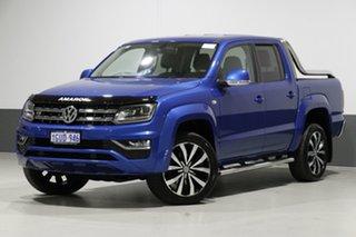 2017 Volkswagen Amarok 2H MY18 V6 TDI 550 Ultimate Blue 8 Speed Automatic Dual Cab Utility.