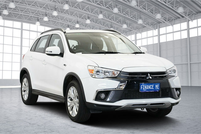 Used Mitsubishi ASX XC MY19 ES 2WD ADAS, 2018 Mitsubishi ASX XC MY19 ES 2WD ADAS White 6 Speed Constant Variable Wagon
