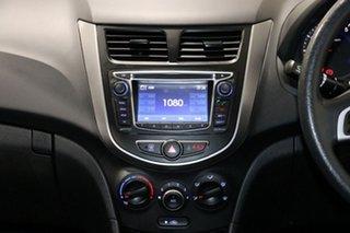 2015 Hyundai Accent RB2 Active White 4 Speed Automatic Sedan