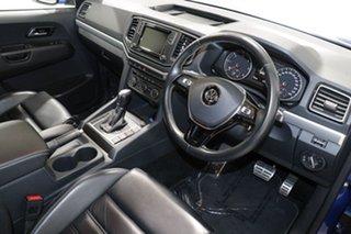 2017 Volkswagen Amarok 2H MY18 V6 TDI 550 Ultimate Blue 8 Speed Automatic Dual Cab Utility