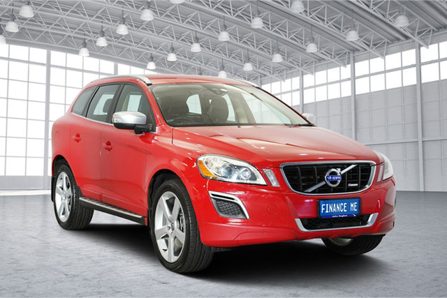 Used Volvo XC60 DZ MY14 D5 Geartronic AWD R-Design, 2013 Volvo XC60 DZ MY14 D5 Geartronic AWD R-Design Red 6 Speed Sports Automatic Wagon