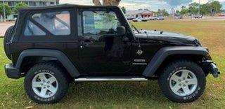 2008 Jeep Wrangler JK MY2008 Sport Black 6 Speed Manual Softtop.