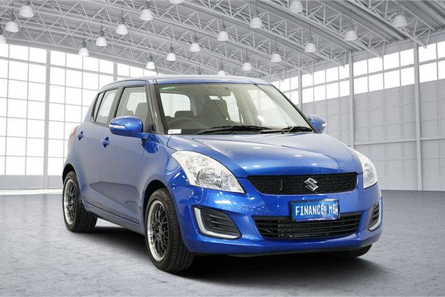 Used Suzuki Swift FZ MY15 GL, 2016 Suzuki Swift FZ MY15 GL Blue 4 Speed Automatic Hatchback