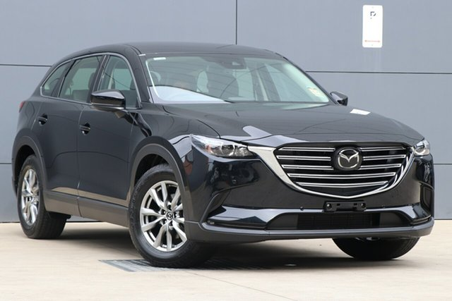 New Mazda CX-9 TC Touring SKYACTIV-Drive, 2019 Mazda CX-9 TC Touring SKYACTIV-Drive Jet Black 6 Speed Sports Automatic Wagon