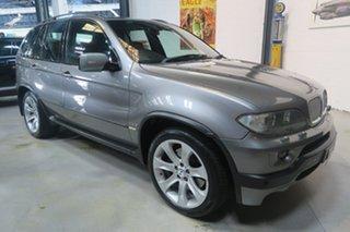 2004 BMW X5 E53 MY04 is Steptronic Grey 6 Speed Sports Automatic Wagon.