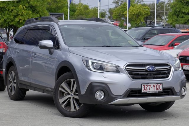 Demo Subaru Outback B6A MY18 2.5i CVT AWD Premium, 2018 Subaru Outback B6A MY18 2.5i CVT AWD Premium Ice Silver 7 Speed Constant Variable Wagon