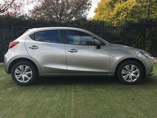 2019 Mazda 2 DJ2HAA Neo SKYACTIV-Drive Silver 6 Speed Sports Automatic Hatchback.
