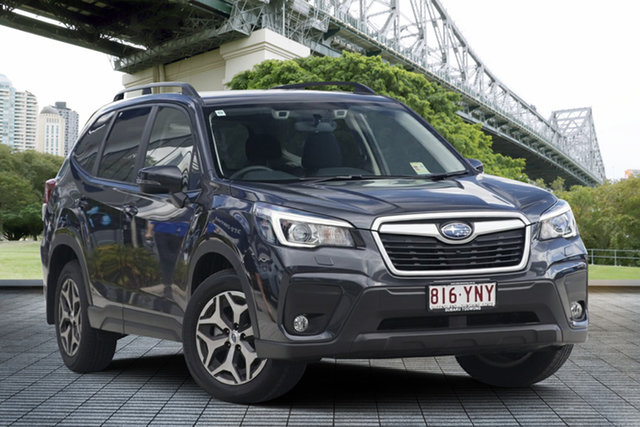 Demo Subaru Forester S5 MY19 2.5i-L CVT AWD, 2018 Subaru Forester S5 MY19 2.5i-L CVT AWD Dark Grey 7 Speed Constant Variable Wagon
