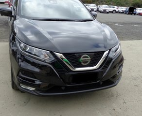 2018 Nissan Qashqai J11 Series 2 ST-L X-tronic Pearl Black 1 Speed Constant Variable Wagon