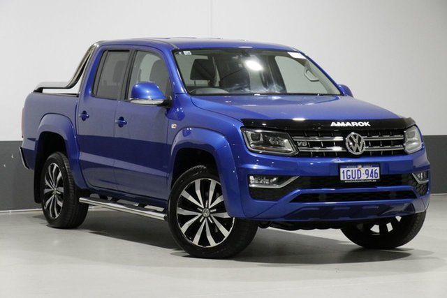 Used Volkswagen Amarok 2H MY18 V6 TDI 550 Ultimate, 2017 Volkswagen Amarok 2H MY18 V6 TDI 550 Ultimate Blue 8 Speed Automatic Dual Cab Utility