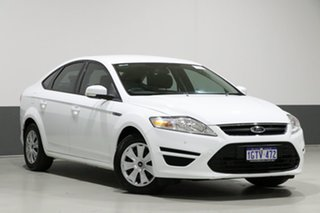 2014 Ford Mondeo MC LX TDCi White 6 Speed Direct Shift Hatchback.