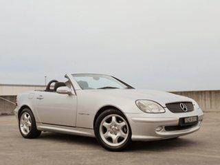 2000 Mercedes-Benz SLK-Class R170 SLK230 Kompressor Silver 6 Speed Manual Roadster.
