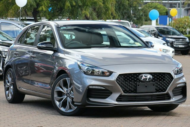 New Hyundai i30 PD.3 MY20 N Line D-CT Ravenhall, 2020 Hyundai i30 PD.3 MY20 N Line D-CT Fluidic Metal 7 Speed Sports Automatic Dual Clutch Hatchback
