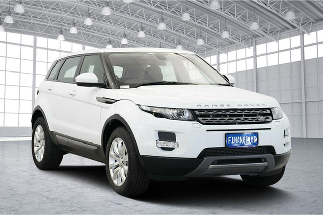 Used Land Rover Range Rover Evoque L538 MY15 TD4 Pure Tech, 2014 Land Rover Range Rover Evoque L538 MY15 TD4 Pure Tech White 9 Speed Sports Automatic Wagon