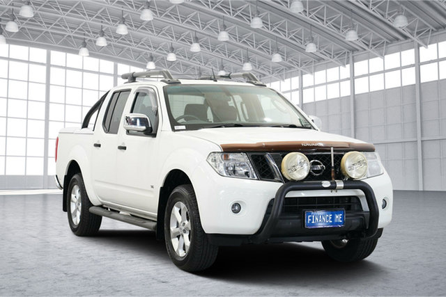Used Nissan Navara D40 MY11 ST-X 550, 2011 Nissan Navara D40 MY11 ST-X 550 White 7 Speed Sports Automatic Utility