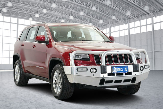 Used Jeep Grand Cherokee WK MY2013 Laredo, 2013 Jeep Grand Cherokee WK MY2013 Laredo Red 5 Speed Sports Automatic Wagon