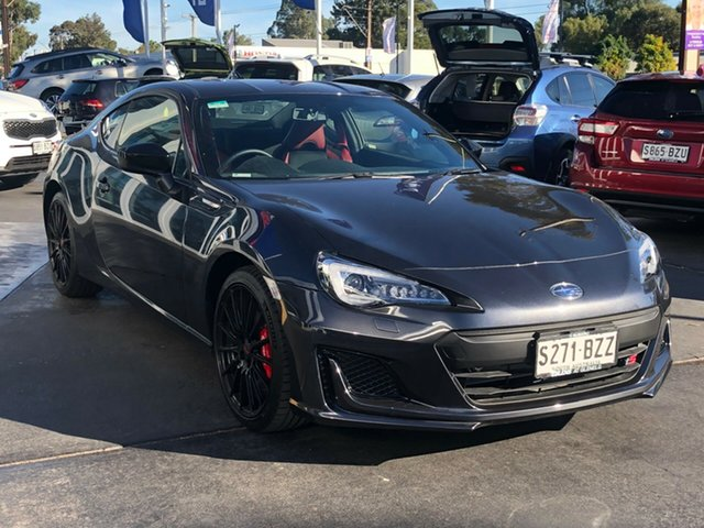 Demo Subaru BRZ Z1 MY18 TS, 2018 Subaru BRZ Z1 MY18 TS Dark Grey 6 Speed Sports Automatic Coupe