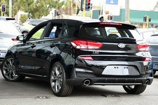 2019 Hyundai i30 PD.3 MY19 N Line D-CT Phantom Black 7 Speed Sports Automatic Dual Clutch Hatchback.