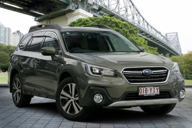 Demo Subaru Outback B6A MY18 2.5i CVT AWD Premium, 2018 Subaru Outback B6A MY18 2.5i CVT AWD Premium Wilderness Green 7 Speed Constant Variable Wagon