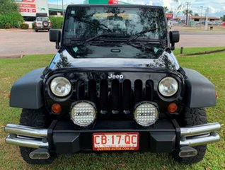 2008 Jeep Wrangler JK MY2008 Sport Black 6 Speed Manual Softtop