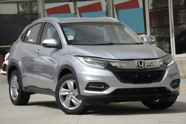 New Honda HR-V MY19 +Luxe, 2019 Honda HR-V MY19 +Luxe Lunar Silver 1 Speed Constant Variable Hatchback