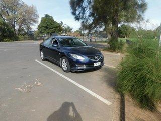 2008 Mazda 6 GH1051 Classic Blue 6 Speed Manual Sedan.