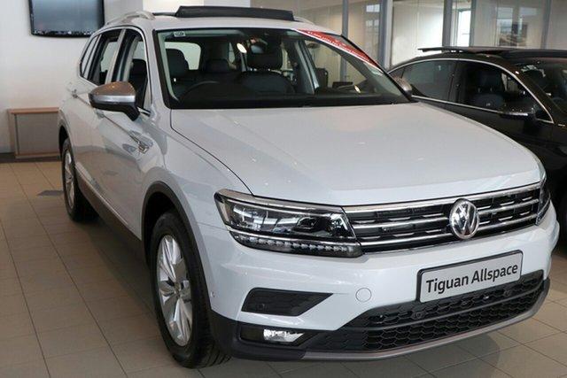 New Volkswagen Tiguan 5N MY19 132TSI Comfortline DSG 4MOTION Allspace, 2018 Volkswagen Tiguan 5N MY19 132TSI Comfortline DSG 4MOTION Allspace Pure White 7 Speed