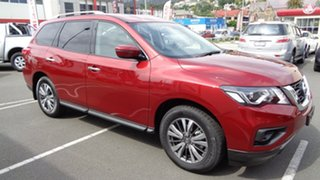 2018 Nissan Pathfinder R52 Series II MY17 ST X-tronic 4WD Cayenne Red 1 Speed Constant Variable.
