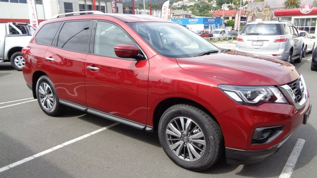 Demo Nissan Pathfinder R52 Series II MY17 ST X-tronic 4WD, 2018 Nissan Pathfinder R52 Series II MY17 ST X-tronic 4WD Cayenne Red 1 Speed Constant Variable
