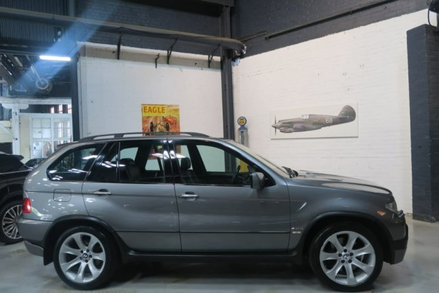 Used BMW X5 E53 MY04 is Steptronic, 2004 BMW X5 E53 MY04 is Steptronic Grey 6 Speed Sports Automatic Wagon