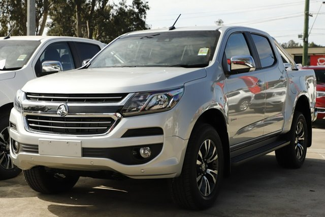New Holden Colorado RG MY19 LTZ Pickup Crew Cab, 2019 Holden Colorado RG MY19 LTZ Pickup Crew Cab Nitrate Silver 6 Speed Sports Automatic Utility