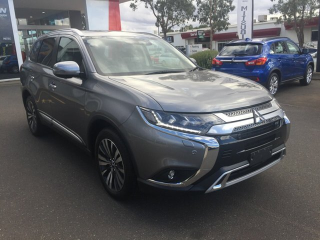 New Mitsubishi Outlander ZL MY19 Exceed 7 Seat (AWD), 2018 Mitsubishi Outlander ZL MY19 Exceed 7 Seat (AWD) Grey Continuous Variable Wagon